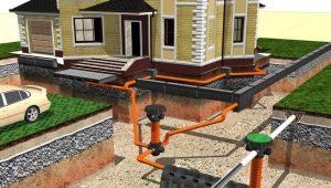 Дренаж фундамента дома и участка: варианты, последовательность и технология монтажа
