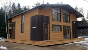 Фасадная доска для частного дома: современные способы производства и установки