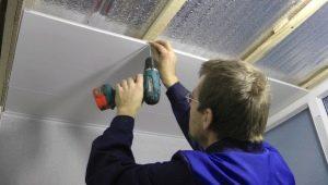Как сделать потолок в ванной из ПВХ-панелей?