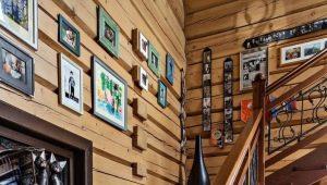 Какими могут быть лестницы на второй этаж в деревянном доме: варианты конструкций и дизайна