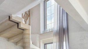 Каменные лестницы: особенности и преимущества