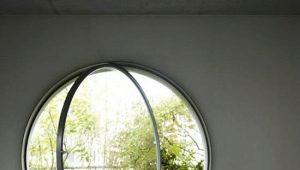 Круглое окно: необычное решение в интерьере
