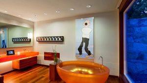 Круглые ванны в интерьере: особенности дизайна и критерии выбора
