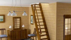 Лестница вразбежку: «гусиный шаг» и другие виды оригинальных мини-конструкций