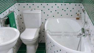 На какой высоте от пола и как устанавливают ванну?