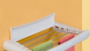 Настенные сушилки для белья: обзор современных моделей