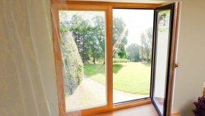 Особенности дерево-алюминиевых окон