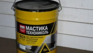 Особенности использования битумной мастики «ТехноНИКОЛЬ» №27