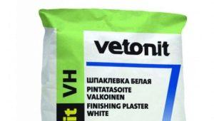Особенности влагостойкой шпаклевки Vetonit VH
