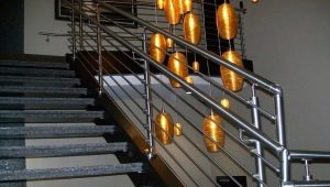 Перила из нержавеющей стали: разновидности и дизайн