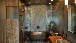 Плитка для ванной комнаты: оригинальные идеи в интерьере