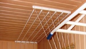 Потолочные сушилки для белья: как выбрать подходящую конструкцию?