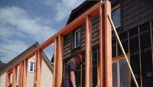 Правила обустройства пристроек к каркасным домам