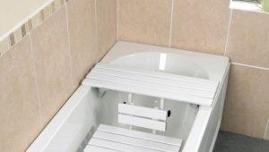 Сиденье для ванны: разновидности и нюансы применения
