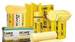 Утеплители Isover: обзор тепло- и звукоизоляционных материалов