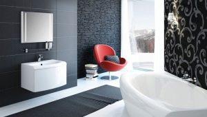 Выбираем модную плитку для ванной комнаты: варианты дизайна