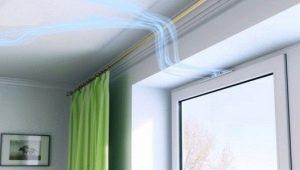 Дышашие пластиковые окна с вентиляционным приточным клапаном Air Box