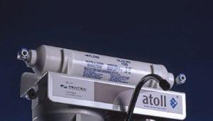 Фильтры для воды Atoll: обзор ассортимента и советы по эксплуатации