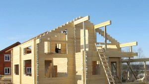 Как построить дом из бруса метражом 6 на 9?