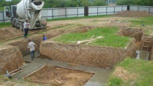 Как правильно вырыть котлован под фундамент?