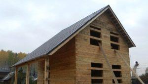 Как устроен теплый угол брусового дома?