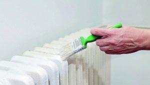 Как выбрать кисть для покраски радиатора?