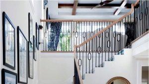 Керамические ступени в интерьере загородного дома