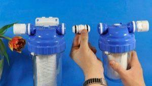 Корпуса фильтров для воды: разновидности конструкций