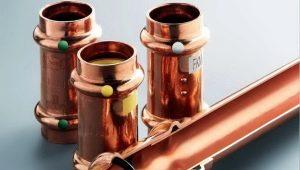 Медные трубы: разновидности изделий и процесс их установки