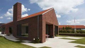 Особенности строительства кирпичного дома: утепление ...