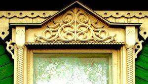 Особенности подбора наличников на окна в деревянном доме