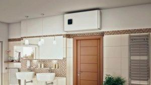 Разнообразие накопительных электрических плоских водонагревателей