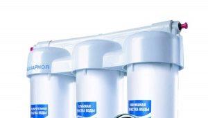 Трехступенчатый фильтр для воды: преимущества и недостатки