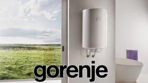 Водонагреватели марки Gorenje: модельный ряд продукции