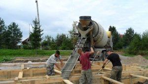 Заливка фундамента: пошаговая инструкция по проведению строительных работ