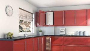 Как спрятать газовый котел на кухне?
