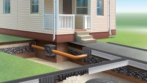 Дренажная канализация: устройство и установка
