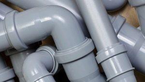 Виды и характеристики канализационных отводов