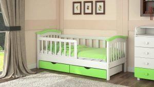 Детская кровать с бортиками для ребенка старше 3 лет