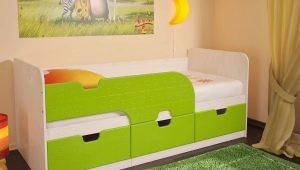Детская односпальная кровать: виды, модели и дизайн