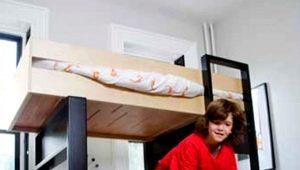 Двухъярусная угловая кровать для детей: виды, дизайн и советы по выбору