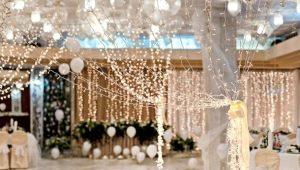 Как сделать гирлянды на свадьбу своими руками?