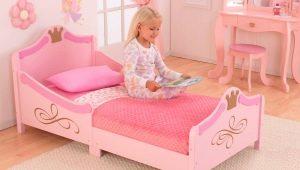 Кровати для девочек старше 3 лет