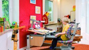 Выбираем компьютерный стул и стол к нему для ребенка