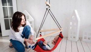 Выбираем подвесные детские качели для дома