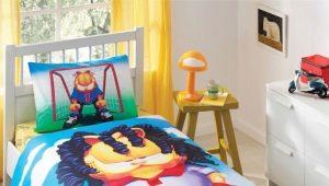 Размеры детского постельного белья