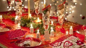 Выбор и оформление новогодней посуды