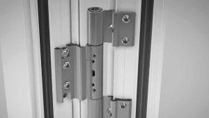 Петли для алюминиевых дверей: виды и рекомендации по выбору
