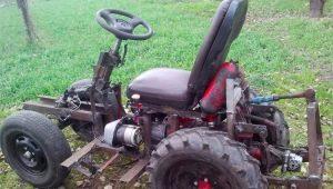 Изготовление мини-трактора из мотоблока МТЗ