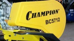 Мотоблоки Champion: особенности и характеристики моделей
